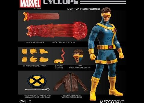 Mezco Toyz ONE:12 COLLECTIVE Cyclops
