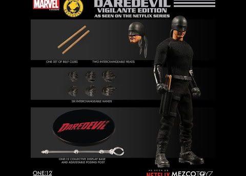 Mezco Toyz ONE:12 COLLECTIVE Netflix Daredevil - Vigilante Edition