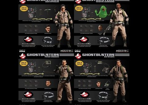 Mezco Toyz ONE:12 COLLECTIVE Ghostbusters Deluxe Box Set