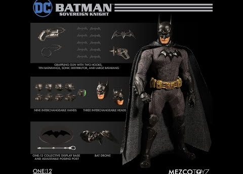Mezco Toyz ONE:12 COLLECTIVE Batman: Sovereign Knight