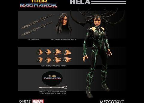Mezco Toyz ONE:12 COLLECTIVE Ragnarok Hela