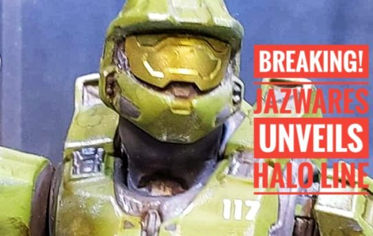 BREAKING! Jazwares Unveils HALO Line At Toy Fair!
