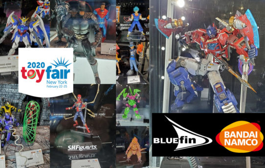 Toy Fair 2020 Bluefin Bandai Namco Gallery