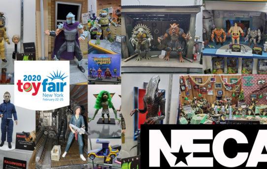 Toy Fair 2020 NECA Gallery