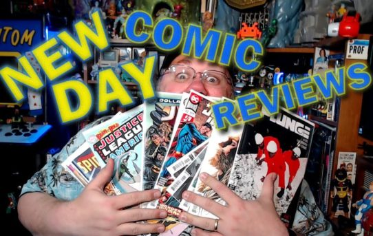 New Comic Day Reviews - March 18, 2020