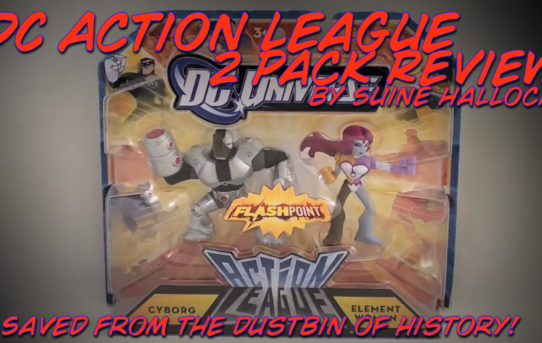 DC Action League Cyborg & Element Woman 2-Pack Review