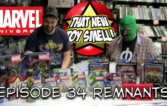That New Toy Smell Episode 34 - Hasbro's Marvel Universe