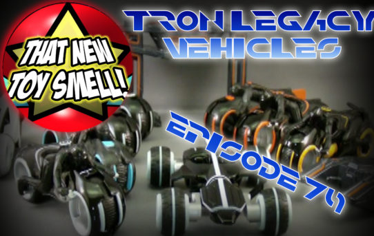 That New Toy Smell Episode 79 - TRON Die Cast Vehicles