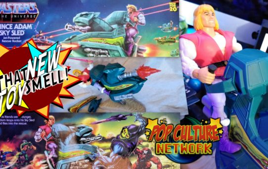 Masters of the Universe Origins Sky Sled and Prince Adam Review
