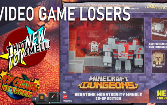 Minecraft Dungeons Redstone Monstrosity Mangle Complete Battle Set With Mini Figures Review